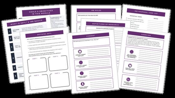 workbook sotl by design